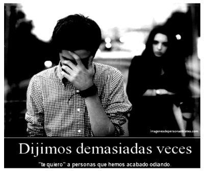 frases de desamor y personas tristes
